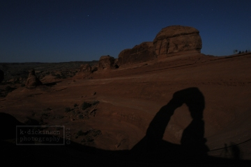 Delicate Arch Reflection, Arches NP
