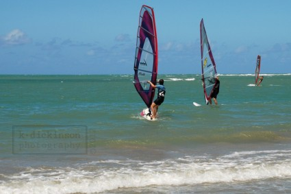 Windsurfers in Cabarete