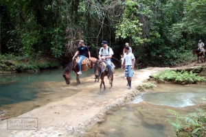 Horseback riding to Salto del Limon (Lemon Waterfall)