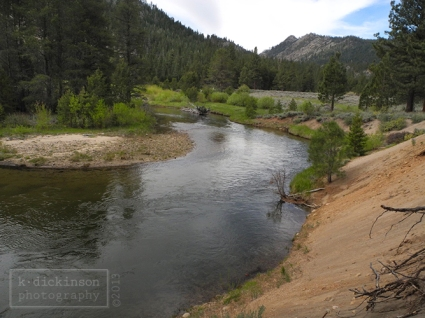 The East Fork of the Carson River on the Carson River Trail.