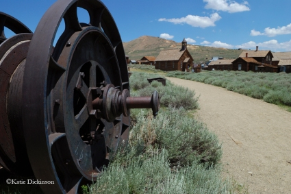 Bodie State Historical Park, a ghost town in California, July 2010.