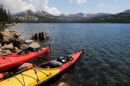 Caples Lake, California.  July 2013.  Nikon P7100.