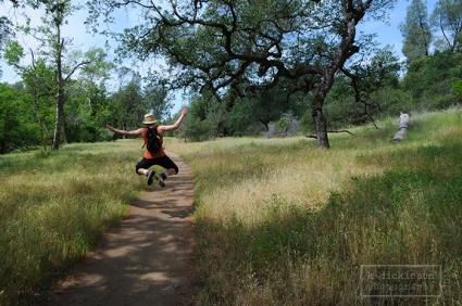 Hiking at Bidwell Park in Chico, California, May 2013.  Nikon D300 with 17-55 2.8 lens.