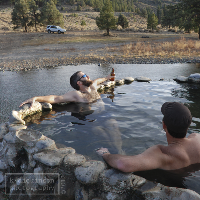 Day at the Carson River Hot Springs | K. Dickinson Photography