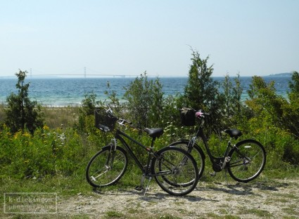 KDickinson - Bikes on Mackinac Island