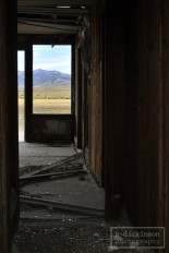 Looking through an abandoned building in Monitor Valley, Nevada. October 2011. Nikon D300 with 17-55 2.8 lens.
