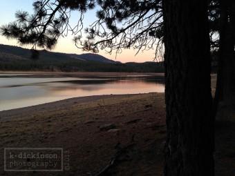 Frenchman Lake, Plumas County, California. October 2013. iPhone 5.