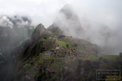Inca Trail Day 4. Machu Picchu. November 2010. Nikon D80 with 18-135 lens.