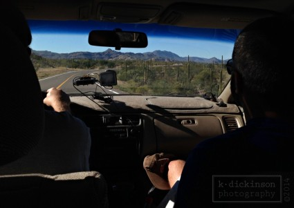 Driving in Baja