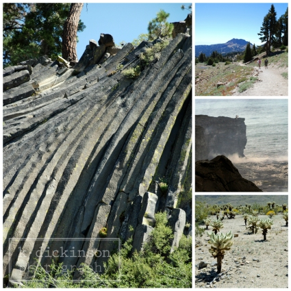 Devil's Postpile, Lassen Volcanic, Hawai'i Volcanoes, and Joshua Tree