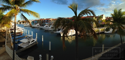The marina at Palmas del Mar.