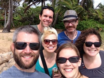 The mandatory vacation group shot.
