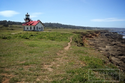 Point Cabrillo Lighthouse. Mendocino.