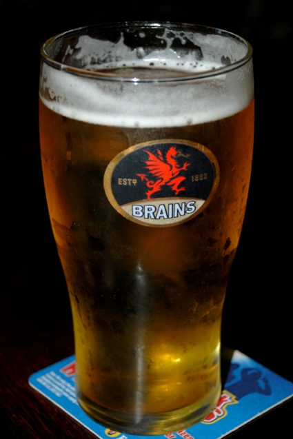 Brains Beer