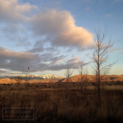 Sunrise in Carson City, Nevada