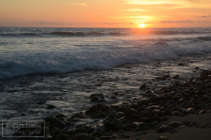 On the beach near of Todos Santos.