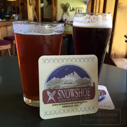 Snowshoe Brewing Company, Arnold, California