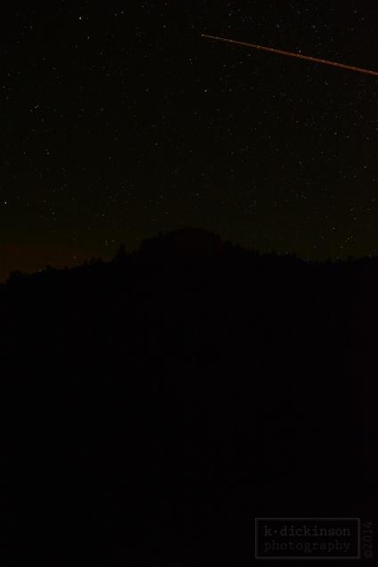 Shooting Star near Sonora Pass