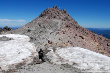 The Summit of Lassen Peak