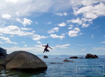 Somewhere on the east shore of Lake Tahoe.