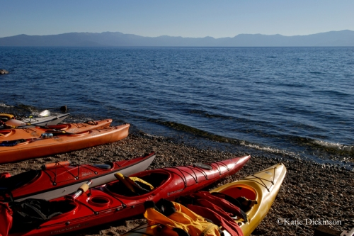 Kayaks, Lake Tahoe