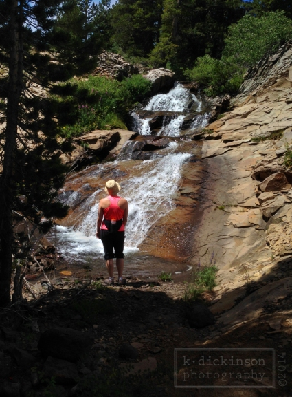 Waterfall near Sonora Pass
