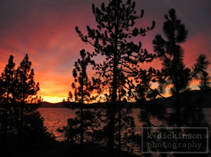 KDickinson Photography - Sunset, Lake Tahoe