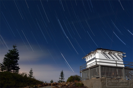 Robbs Hut Startrails