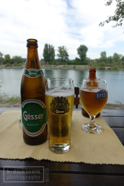 Enjoying beers on the Danube River - kdickinson photography