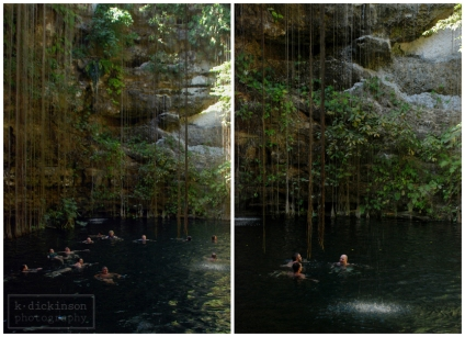 Cenote Collage