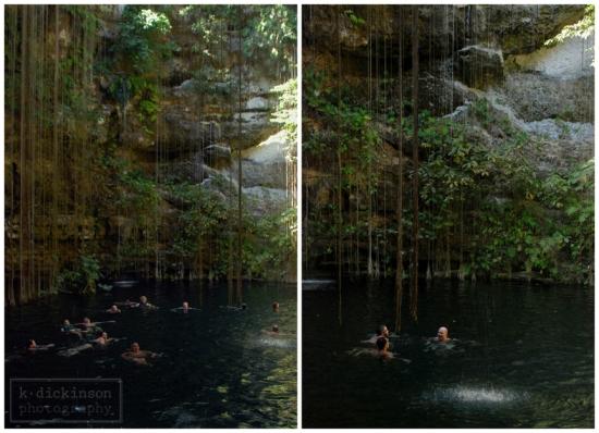 Cenote Collage