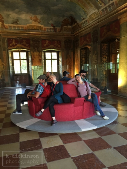 Revolving Couch, Hellbrunn Palace
