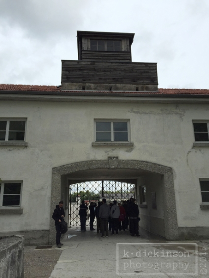 The Gate at Dachau, Germany