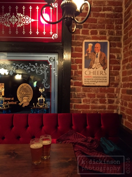 A cozy corner in a pub in Carson City, Nevada