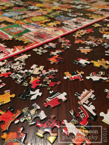 Puzzle and Puzzle Pieces