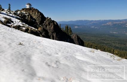 Mills Peak Lookout, Plumas County, California