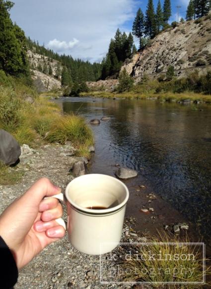 Morning Coffee, Graeagle, California