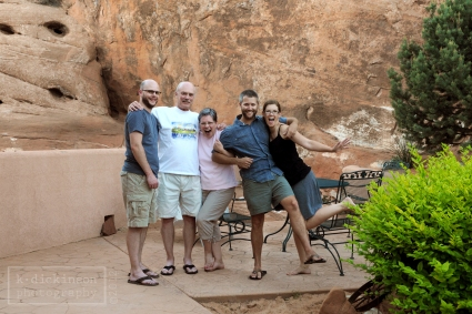 Family at Moab 4x6