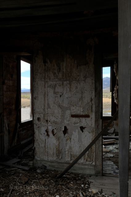 Abandoned Building in Monitor Valley, Nevada