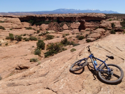 Biking in Moab. Photo by Matt Dickinson