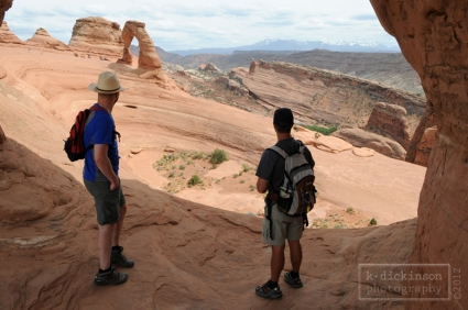 At the Delicate Arch, Arches NP