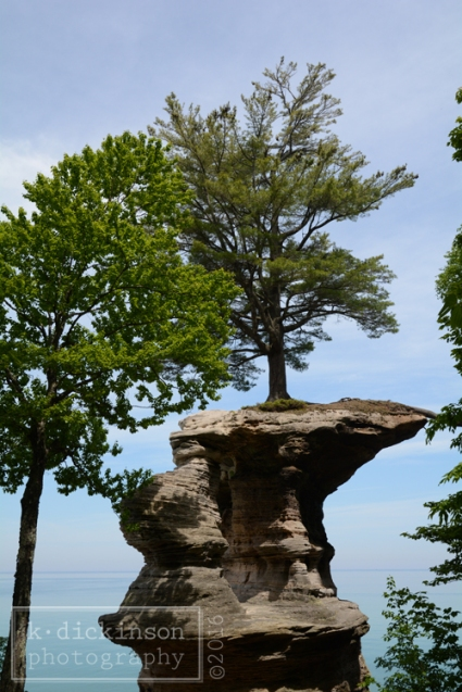 039 Chapel Rock - Pictured Rocks National Lakeshore