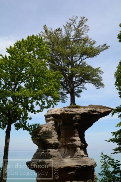 039 Chapel Rock - Pictured Rocks National Lakeshore