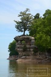 Chapel Rock-Pictured Rocks National Lakeshore