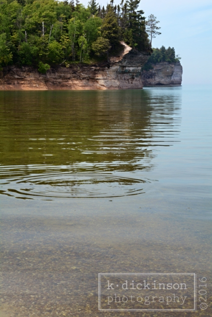 094 Skipping Rocks - Chapel Beach - Lake Superior