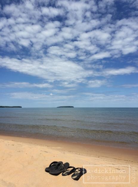 Au Train Beach - Lake Superior - Michigan