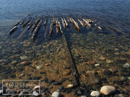 Shipwreck - Lake Superior