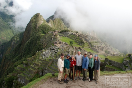 End of the Inca Trail