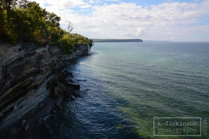 Spray Falls, Pictured Rocks National Lakeshore