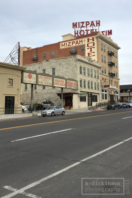 Mizpah Hotel, Tonopah, Nevada